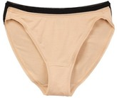 Felina So-Smooth High Cut Panties - Pack of 2