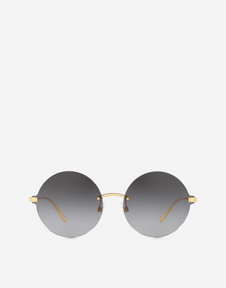 Dolce & Gabbana Logo Plaque Sunglasses