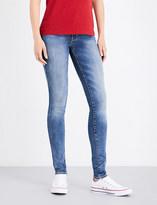 Levi's 711 skinny mid-rise jeans
