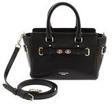 Coach Mini Blake Caryall Shoulder Crossbody Bag in Bubble Leather (Black)