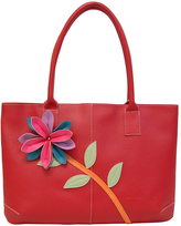 Mellow World Red Aloha Flower Tote