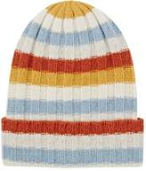 The Elder Statesman Women's Striped Cashmere Rib-Knit Beanie