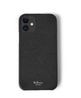 Thumbnail for your product : Mulberry iPhone 12 Case Black Classic Grain