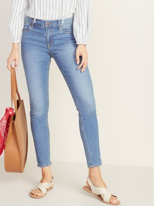 Old Navy Mid-Rise Super Skinny Ankle Jeans for Women