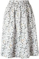 Andrea Marques - all-over print skirt - women - Cotton - 40
