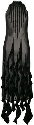 Ssheena Sheer Midi Dress