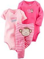 "Carter's Baby Girls' ""Little Sweet Heart"" 3-Piece Set - pink"