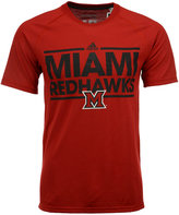 adidas Men's Miami (Ohio) RedHawks Dassler T-Shirt