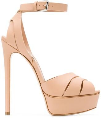 Casadei Floral sandals