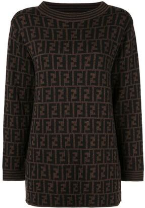 Fendi Pre-Owned FF logo jumper