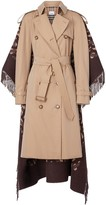 Burberry Blanket Detail Cotton Gabardine Trench Coat