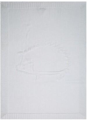 Tartine et Chocolat Hedgehog Wool Blanket (75cm x 100cm)
