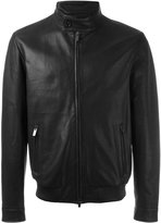 Tod's zip pocket jacket - men - Sheep Skin/Shearling/Polyester/Viscose - L