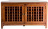 Home Decorators Collection Narita Walnut Corner Media Stand