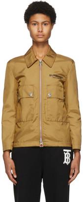 Burberry Tan Eryrys Jacket