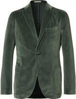 Boglioli - Unstructured Cotton-velvet Blazer