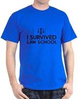 CafePress - I Survived Law School T-Shirt - 100% Cotton T-Shirt