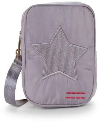 Peace Love World Star Patch Crossbody Bag