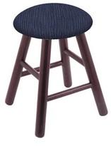 Vanity Stool Holland Bar Stool Color: Graph Anchor, Frame Color: Dark Cherry Oak
