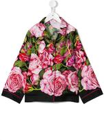 Dolce & Gabbana rose (Pink) print shirt