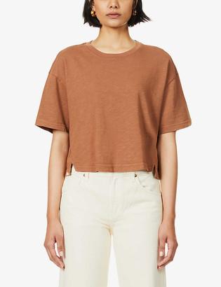 Frame Cloud boxy cotton T-shirt