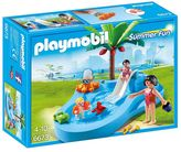 Playmobil Summer Fun Baby Pool & Slide Set - 6673
