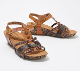 Spring Step L'Artiste by Leather Wedges - Acateia