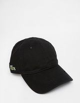 Lacoste Logo Baseball Cap - Black
