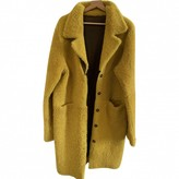 Frenken Yellow Leather Coats