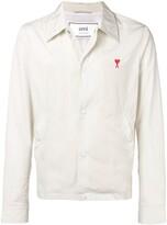 Ami Paris De Coeur Snap Buttoned Jacket