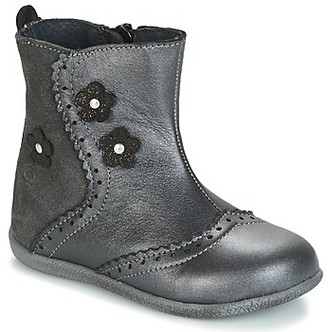 Citrouille et Compagnie HOPETTE girls's Mid Boots in Grey