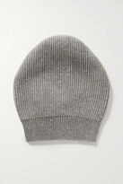 Thumbnail for your product : Brunello Cucinelli Sequin-embellished Metallic Ribbed-knit Beanie - Gray