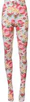 Comme des Garcons floral print stockings