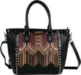 Nicole Lee Women's Tatiana Chain-Fringe Tote Bag