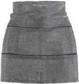 Fannie Schiavoni Zoe Crystal Mini Skirt