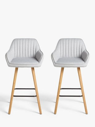 John Lewis & Partners Toronto Bar Chairs, Set of 2