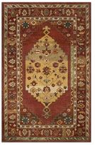Uttermost Estelle Red Wool Rug (5x8)