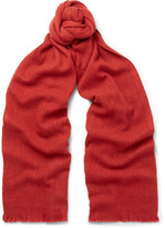 Loro Piana Baby Cashmere-blend Scarf - Red