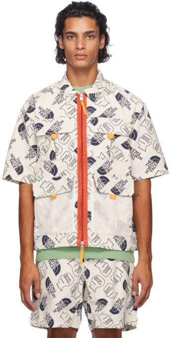 Brain Dead Off-White The North Face Edition Boxy Short Sleeve Shirt