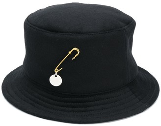 Ruslan Baginskiy Pin-Detail Bucket Hat