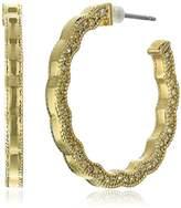 """Carolee Bryant Park"""" Pierced Hoop Earrings"""