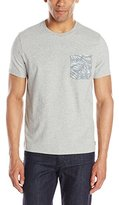 Jack Spade Men's Tropical Pocket T-Shirt
