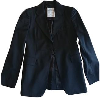Maison Margiela Blue Wool Jackets