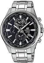 Edifice EFR-304D-1AVUEF Chronograph Multifunction World Time Analog Quartz Men's Watch