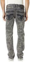 Rock Revival Men's Nick A16 Alt Straight Cut Jeans