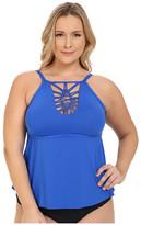 Becca by Rebecca Virtue Plus Size Becca ETC Janis Tankini