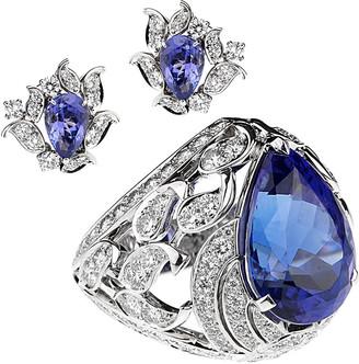 Van Cleef & Arpels Heritage  18K Ring & Earrings Set