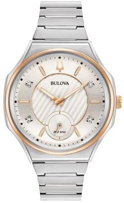 Bulova Women's Quartz Stainless Steel Dress Watch, 40.5mm