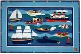 Fun Rugs Fun RugsTM Olive KidsTM Boats & Buoys Rug - 19'' x 29''