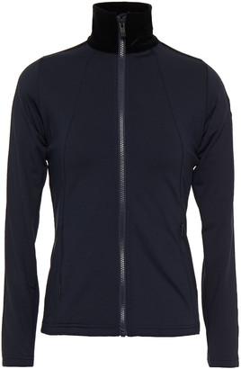 Fusalp Stellaria Velvet-trimmed Jersey Jacket